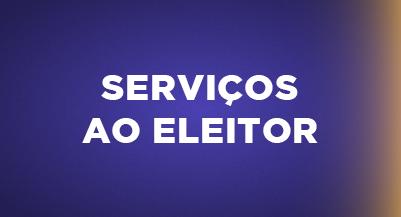 Serviços ao Eleitor